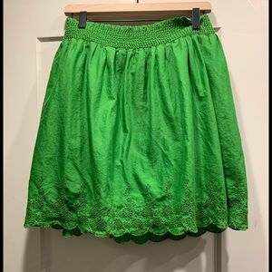 COPY - Gorgeous green cotton Old Navy skirt.
